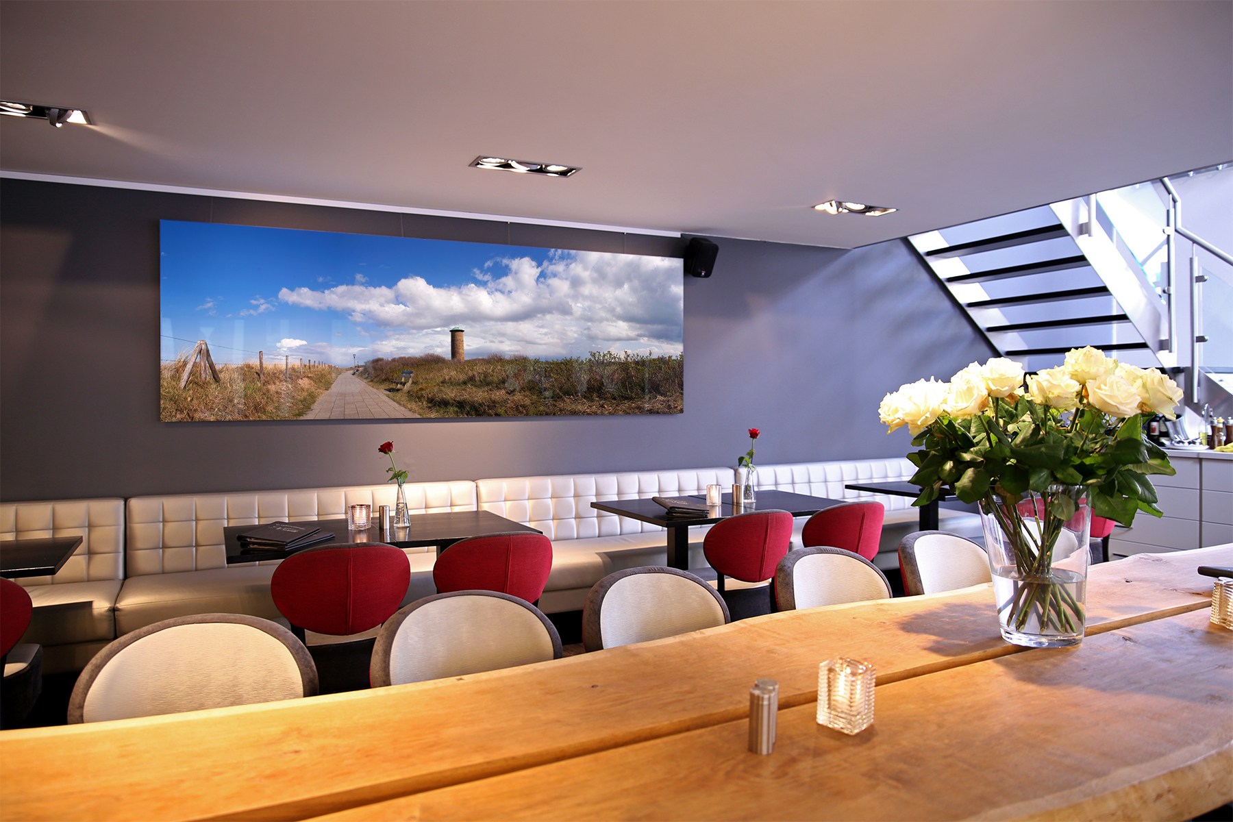 Commission for Restaurant Verdi, Domburg (10 large format prints in Liquid Gloss finish)